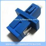 SC to LC fiber hybrid adaptor plastic housing