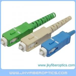 SC/APC Fiber Optic Connector