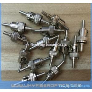 ST Fiber Optic Connector with metal ferrule/Stainless Steel Ferrule