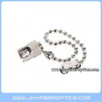ST/F Metal Dust Cap With Chain