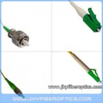 FC/APC to LC/APC Singlemode Simplex Fiber Optic Patch Cord
