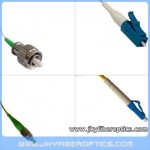 FC/APC to LC/UPC Singlemode Simplex Fiber Optic Patch Cord