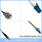 FC/UPC to LC/UPC Singlemode Simplex Fiber Optic Patch Cord