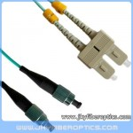 FC/PC to SC/PC Multimode OM3 10G Duplex Fiber Optic Patch Cord