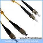 FC/UPC to ST/UPC Singlemode Duplex Fiber Optic Patch Cord