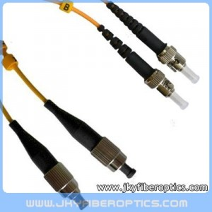 FC/UPC to ST/UPC Singlemode Duplex Fiber Optic Patch Cord