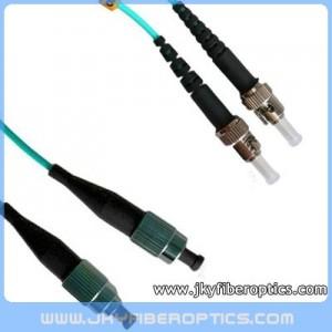 FC/PC to ST/PC Multimode OM3 10G Duplex Fiber Optic Patch Cord