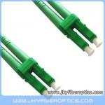 LC/APC to LC/APC Singlemode Duplex Fiber Optic Patch Cord