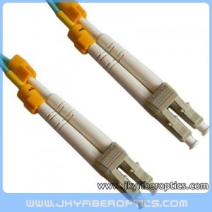 LC/PC to LC/PC Multimode OM3 10G Duplex Fiber Optic Patch Cord