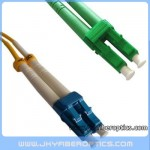 LC/UPC to LC/APC Singlemode Duplex Fiber Optic Patch Cord