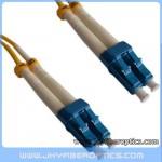 LC/UPC to LC/UPC Singlemode Duplex Fiber Optic Patch Cord