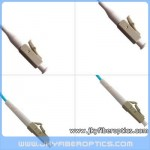 LC/PC to LC/PC Multimode OM3 10G Simplex Fiber Optic Patch Cord