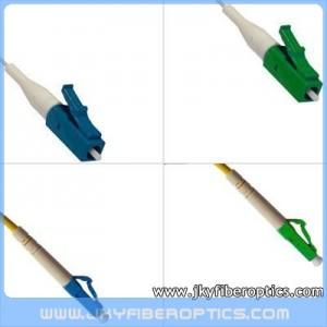 LC/UPC to LC/APC Singlemode Simplex Fiber Optic Patch Cord