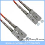 SC/PC to SC/PC Multimode Duplex Fiber Optic Patch Cord