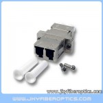 LC Duplex Metal Adaptor