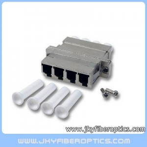 LC Quad Metal Fiber Adaptor