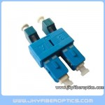 LC(F)-SC(M) Female to Male Duplex Hybrid Adaptor