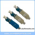 SC(M)-LC(F) Male to Female Plastic Hybrid Adaptor