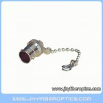 BNC female protective dust cap with chain